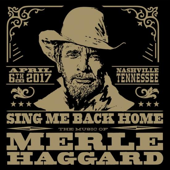 Cover Sing Me Back Home: The Music Of Merle Haggard