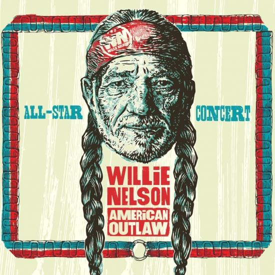 Cover Willie Nelson American Outlaw (Live)