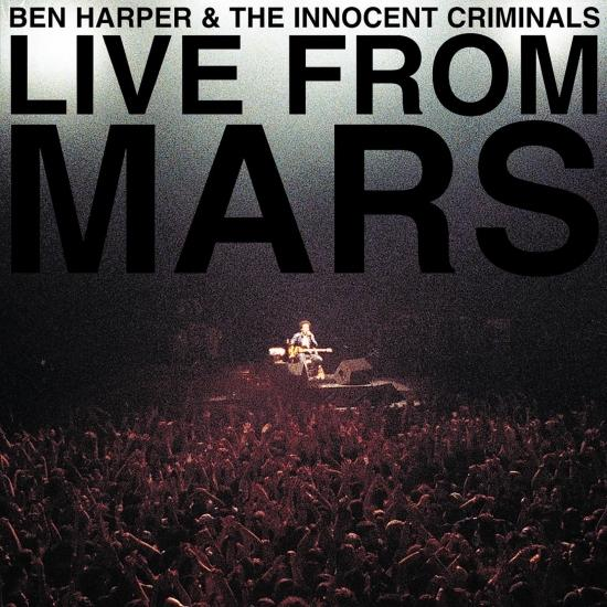 Cover Live From Mars (Remaster)