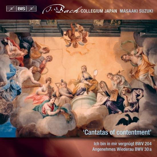 Cover J.S. Bach: Secular Cantatas, Vol. 10