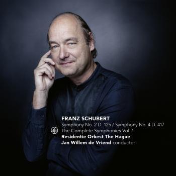Cover Schubert: The Complete Symphonies Vol. 1. Symphony No. 2, D. 125 / Symphony No. 4, D. 417