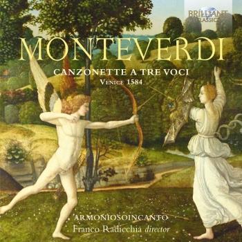 Cover Monteverdi: Canzonette a tre voci, Venice 1584