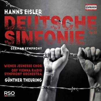 Cover Eisler: Deutsche Sinfonie, Op. 50