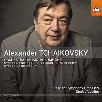 Cover Alexander Tchaikovsky: Orchestral Music, Vol. 1 (Live)