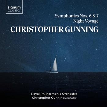 Cover Christopher Gunning: Symphonies 6 & 7, Night Voyage