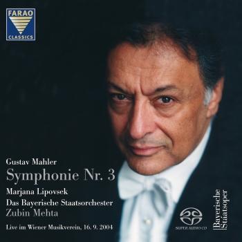 Cover Mahler Symphonie Nr. 3 Live