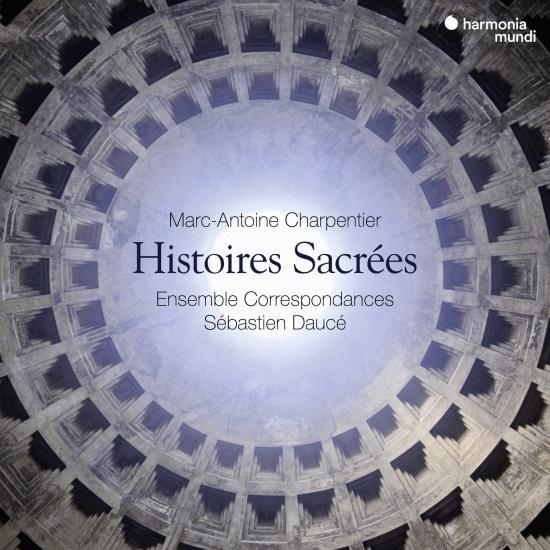 Cover Charpentier: Histoires sacrées