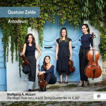 Cover Quatuor Zaïde: Amadeus
