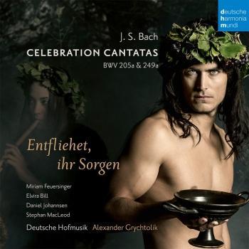 Cover Bach: Celebration Cantatas - Blast Lärmen ihr Feinde, BWV 205a / Entfliehet ihr Sorgen, BWV 249a (Schäferkantate)