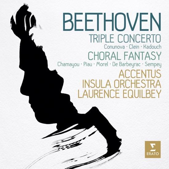 Cover Beethoven: Triple Concerto & Choral Fantasy