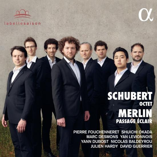 Cover Schubert: Octet / Merlin: Passage éclair