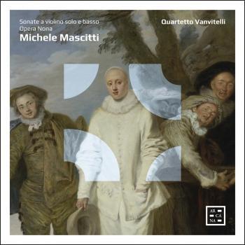 Cover Mascitti: Sonate a violino solo e basso, Opera Nona