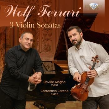 Cover Wolf-Ferrari: 3 Violin Sonatas