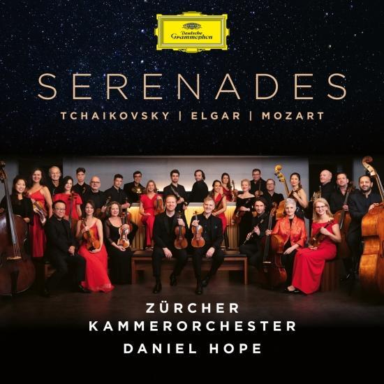 Cover Tchaikovsky - Elgar - Mozart: Serenades