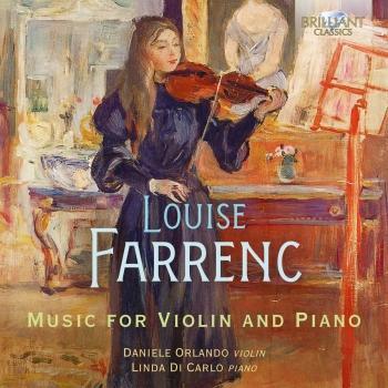Cover Farrenc: Music for Violin & Piano