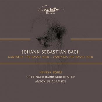 Cover Bach: Kantaten für Basso Solo