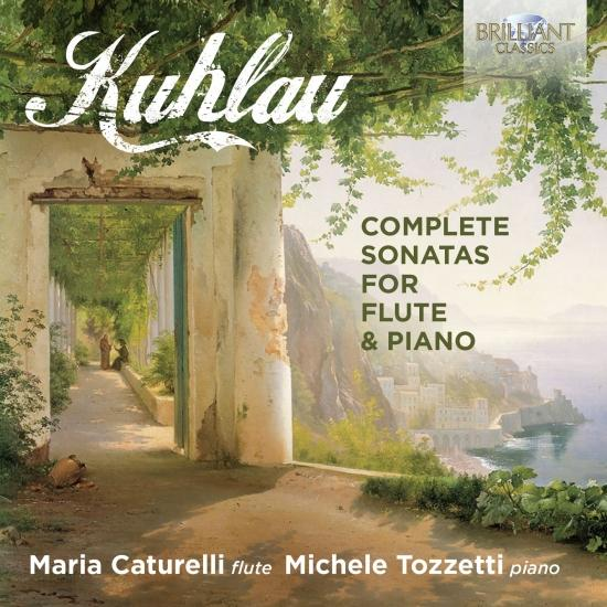Cover Kuhlau: Complete Sonatas for Flute & Piano