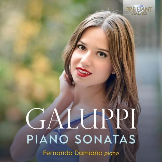 Cover Galuppi: Piano Sonatas