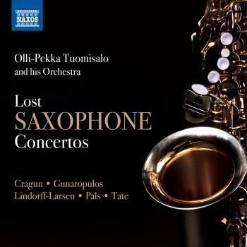 Cover Lost Saxophone Concertos
