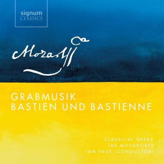 Cover Mozart: Grabmusik, K. 42 & Bastien und Bastienne, K. 50