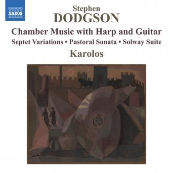 Cover Dodgson: Chamber Music with Harp & Guitar