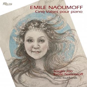 Cover Naoumoff: Cinq valses pour piano