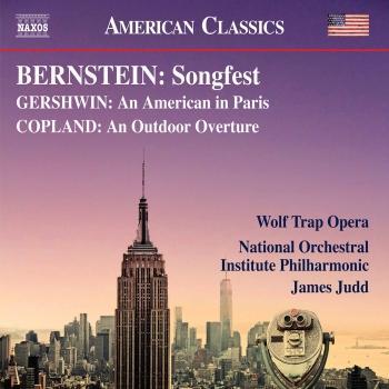 Cover Bernstein, Gershwin & Copland: Works