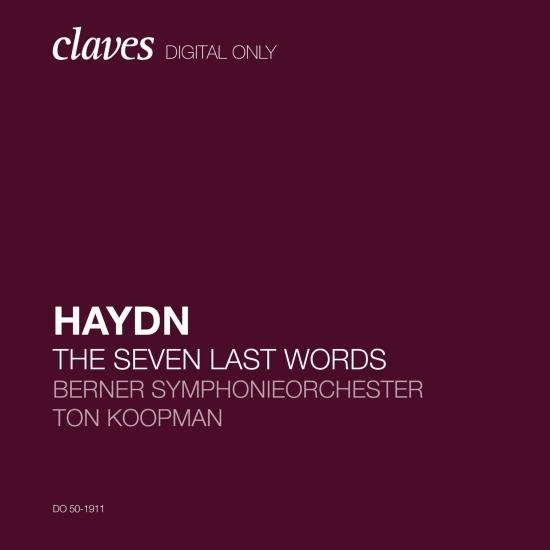 Cover Haydn: The Seven Last Words of Christ, Hob. XX:1