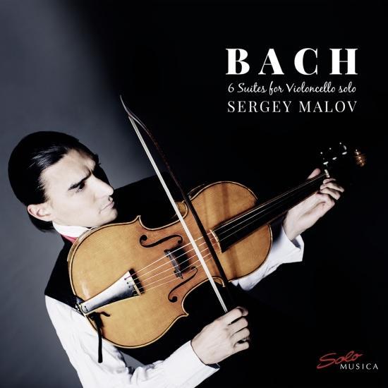 Cover J.S. Bach - Six Suites for Violoncello Solo