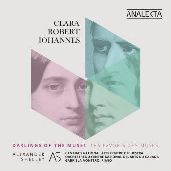 Cover Clara - Robert - Johannes: Darlings of the Muses