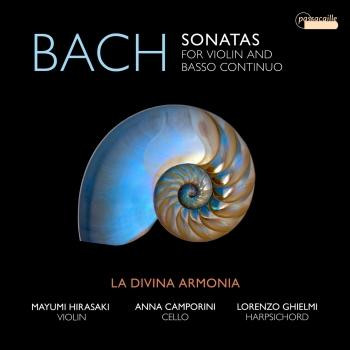 Cover Bach: Sonatas for Violin and Basso Continuo, BWV 1021-1024