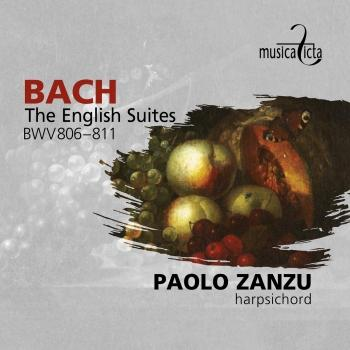 Cover Bach: The English Suites BWV806-811
