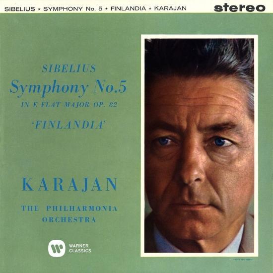 Cover Sibelius: Symphony No. 5 & Finlandia, Op.26