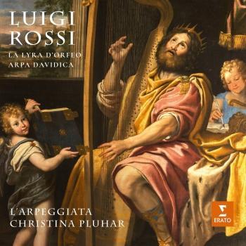 Cover Rossi: La lyra d'Orfeo & Arpa Davidica