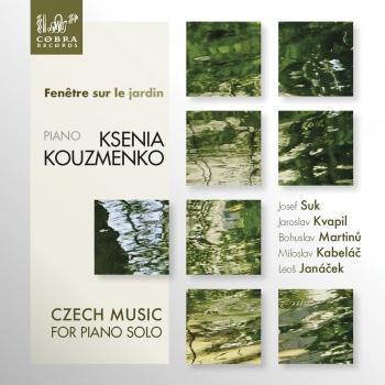 Cover Fenêtre sur le jardín: Czech Music for Piano Solo