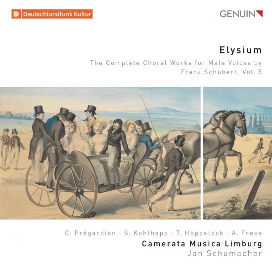 Cover Elysium: The Complete Choral Works for Male Voices by Franz Schubert, Vol. 5