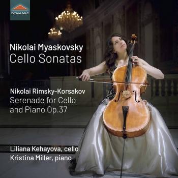 Cover Myaskovsky & Rimsky-Korsakov: Cello Works