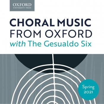 Cover Choral Music from Oxford with Gesualdo Six