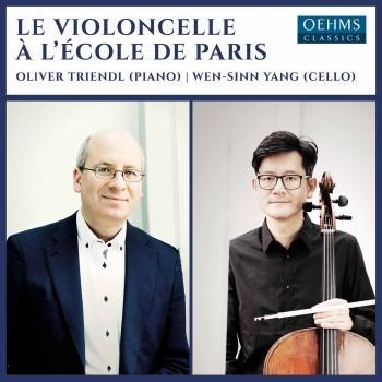 Cover Le violoncelle à l'école de Paris