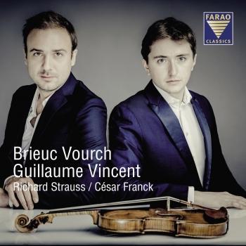 Cover Richard Strauss, César Franck Violinsonaten