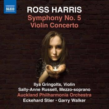 Cover Ross Harris: Symphony No. 5 & Violin Concerto No. 1