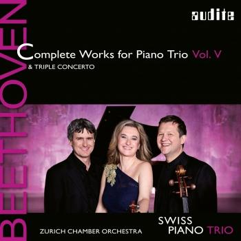 Cover Beethoven: Complete Works for Piano Trio, Vol. 5 incl. 'Triple Concerto'