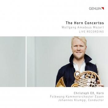 Cover Mozart: The Horn Concertos (Live)