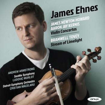 Cover Howard & Kernis : Violin Concerto - Tovey: Stream of Limelight