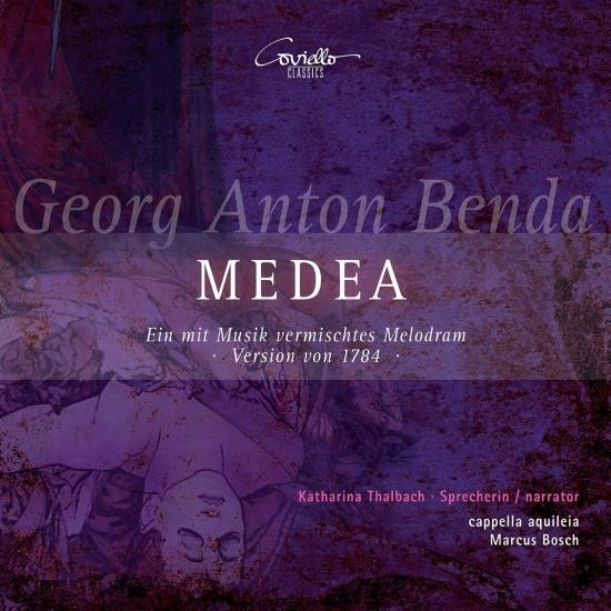 Cover Georg Anton Benda: Medea (Ein mit Musik vermischtes Melodram, Version von 1784)