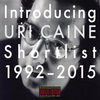 Cover Introducing Uri Caine - Shortlist 1992-2015