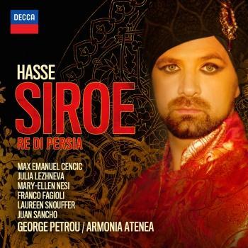 Cover Hasse: Siroe - Re Di Persia, Dresden version (1763)