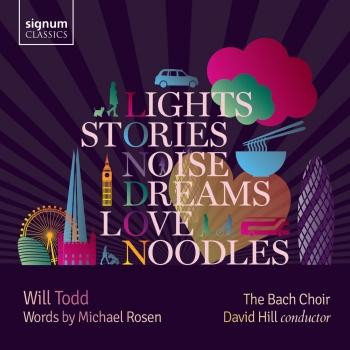 Cover Will Todd: Lights, Stories, Noise, Dreams, Love and Noodles