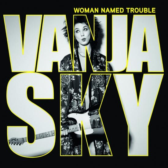 Cover Woman Named Trouble