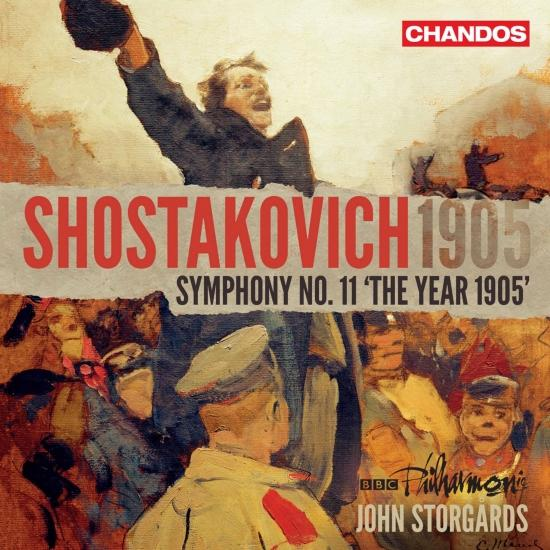 Cover Shostakovich: Symphony No. 11 in G Minor, Op. 103 'The Year 1905'